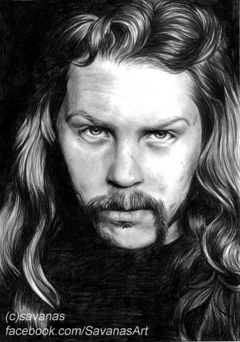 James Hetfield por savanas